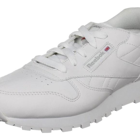 cf7db971b0c6 Reebok Classic Leather White Junior Kids Running T